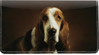 Basset Hound Leather Cover