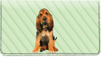 Bloodhound Pups Keith Kimberlin Leather Cover