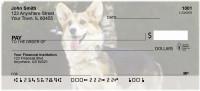 Corgi Dog Personal Checks
