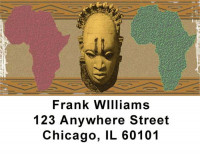 African Pride Address Labels | LBAFR-01