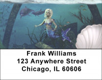 Mysitcal Mermaids Address Labels