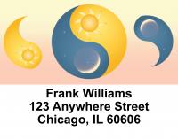 Sun & Moon Address Labels