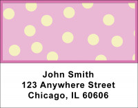 Dots Address Labels | LBGEO-01
