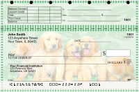 Golden Retriever Pups Keith Kimberlin Top Stub Checks | TSKKM-13