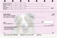Australian Shepherd Pups Keith Kimberlin Top Stub Checks | TSKKM-17