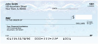 Holiday Sparkle Personal Checks | XMS-06