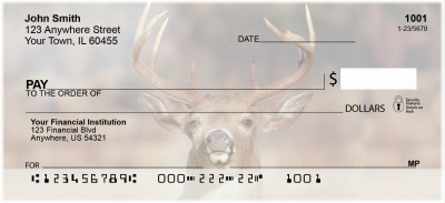 Big Horned Buck Deer Personal Checks | ANK-71