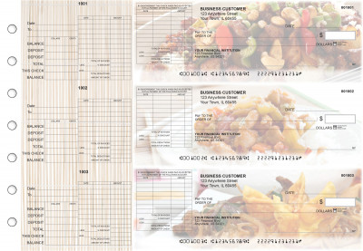 Chinese Cuisine General Itemized Invoice Business Checks | BU3-CDS04-GII