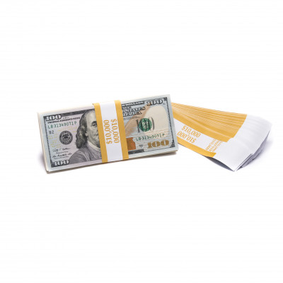 Yellow Barred $1,000 Currency Bands | CBB-007