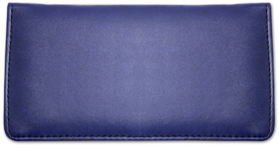 Royal Blue Smooth Leather Checkbook Cover | CLP-BLU03