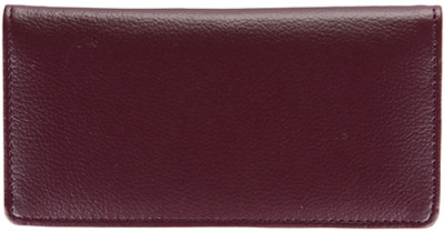 Burgundy Leather Side Tear Checkbook Cover | CLS-BUR01