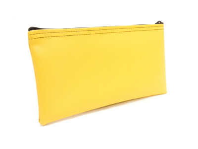Yellow Zipper Bank Bag, 5.5