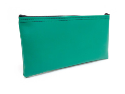 Green Zipper Bank Bag, 5.5