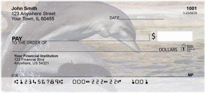 Dolphin Photos Personal Checks | EVC-01