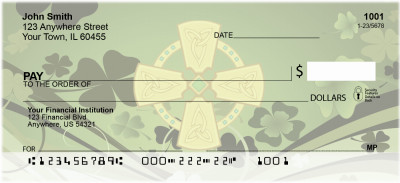 Celtic Influences Personal Checks | EVC-40