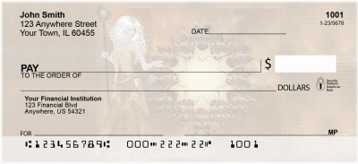 Golden Fairies Personal Checks | EVC-59