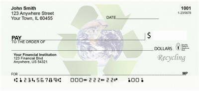 Recycle Now Personal Checks | EVC-83