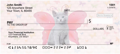 More Cats Wing Series Keith Kimberlin Personal Checks | KKM-06
