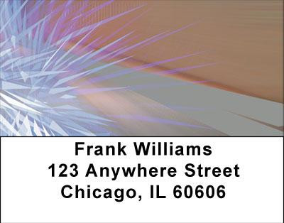 Electric Blue Address Labels | LBABS-01