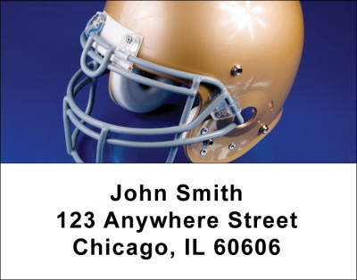 Football Address Labels | LBSPO-05