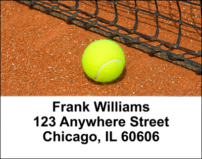Tennis Address Labels | LBSPO-06
