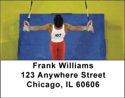 Gymnastic Address Labels | LBSPO-09