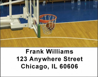 More Basketball Address Labels | LBSPO-12