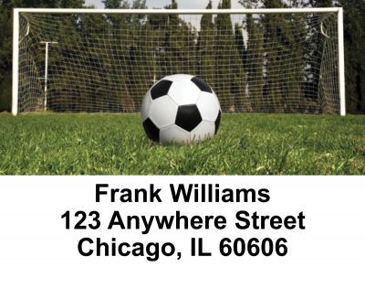 Soccer Address Labels | LBSPO-13