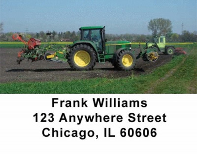 Tractor Address Labels | LBTRA-02