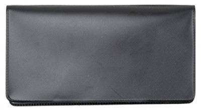 Black Vinyl Checkbook Cover | VCB-BLA01