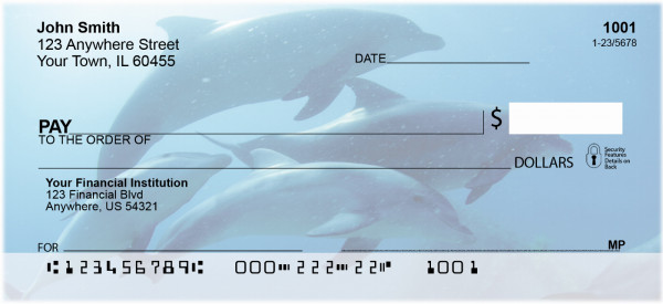 Dolphins Personal Checks