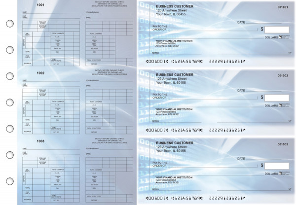Digital Multi-Purpose Counter Signature Business Checks | BU3-7CDS15-MPC