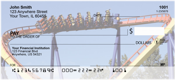 More Beamers Roller Coaster Personal Checks | COA-05