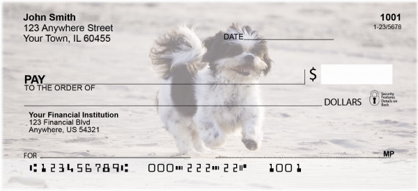 Happy Shih Tzu Personal Checks | DOG-59