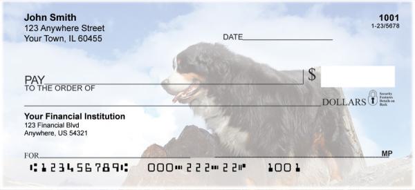 Bernese Mountain Dogs Personal Checks