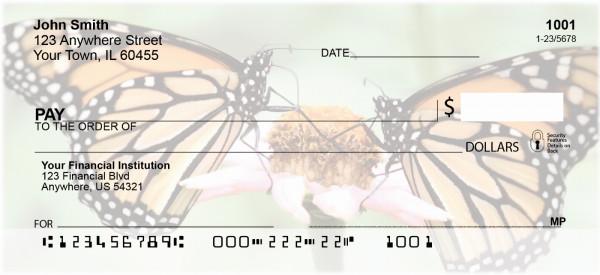 Monarch Butterflies Personal Checks