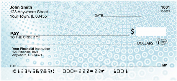 Infinite Circles Personal Checks | EVC-10