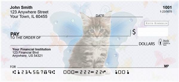 Fairy Kitties Keith Kimberlin Personal Checks