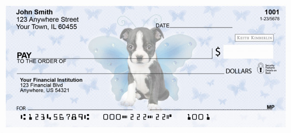 Fairy Pups Keith Kimberlin Personal Checks