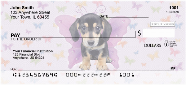 More Dogs Wing Series Keith Kimberlin Personal Checks