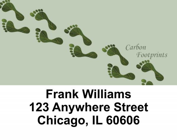 Green Living Address Labels