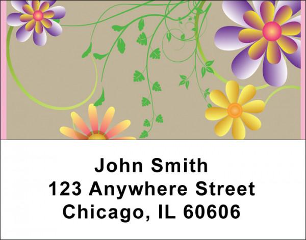 Garden Fresh Address Labels