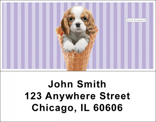 Gelato Pups Keith Kimberlin Address Labels