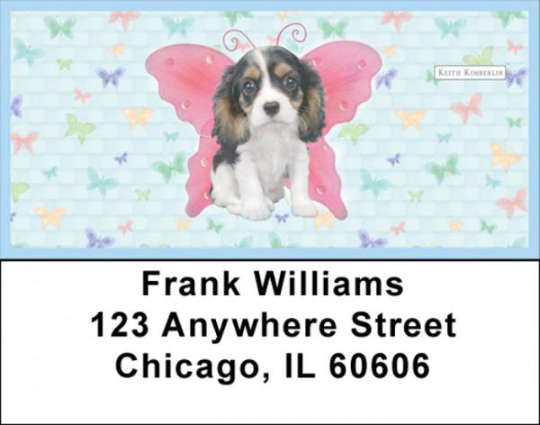 Fariy Pups Keith Kimberlin Address Labels