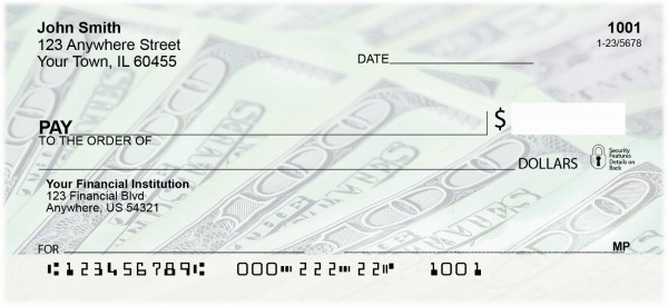 Money Personal Checks | MON-01