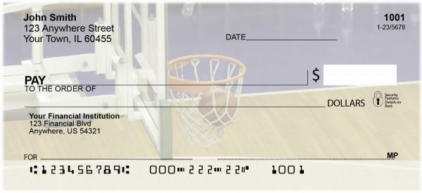 Basketball Sport Personal Checks