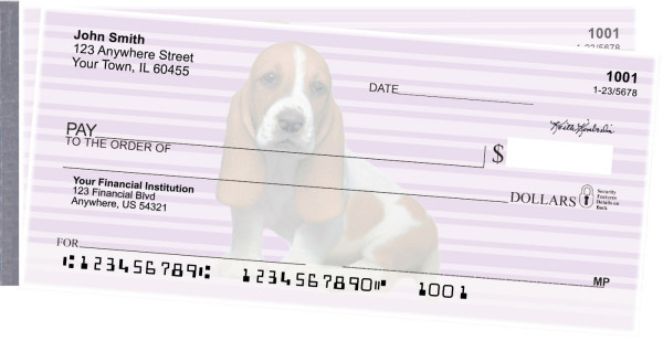 Basset Hound Pups Keith Kimberlin Side Tear Checks | STKKM-25