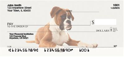 Boxer Dogs Personal Checks