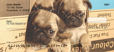 Pug Mugs Checks