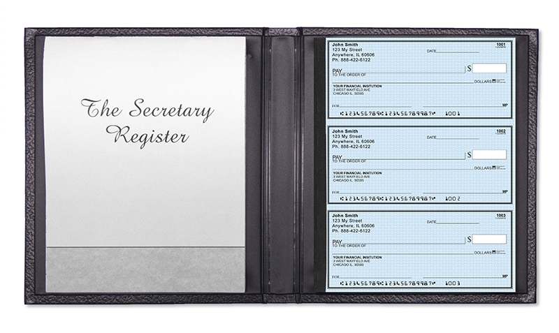 Secretary Deskbook Cover